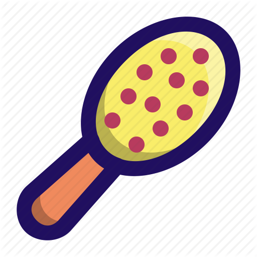 Brush, Comb, Hair, Hairdresser, Paddle Icon