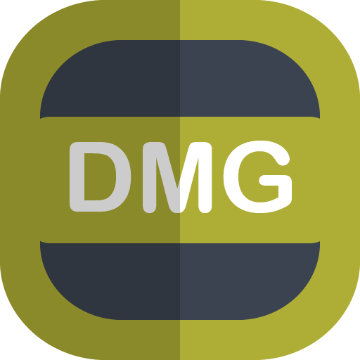 Dmg Icon Free Flat Type Iconset Uiconstock