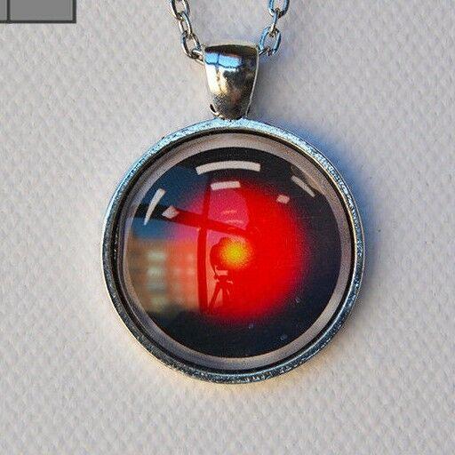 Hal Photo Glass Pendant Necklace