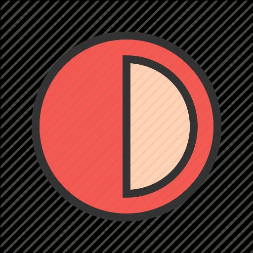 Business, Chart, Circle, Graph, Graphic, Half, Pie Icon