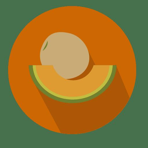 Melon Flat Circle Icon