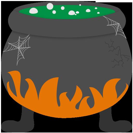 Bubbling, Cauldron Icon