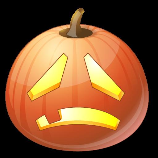 Sad Icon Vista Halloween Iconset Icons Land