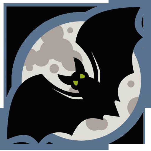 Bat Icon Halloween Iconset Iconcreme Halloween Black Bats