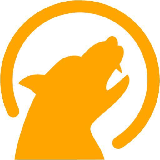 Orange Werewolf Icon
