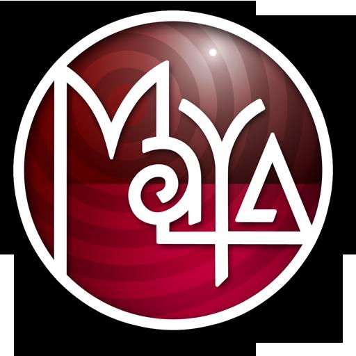 Retro Inspired Maya Icon For Os X