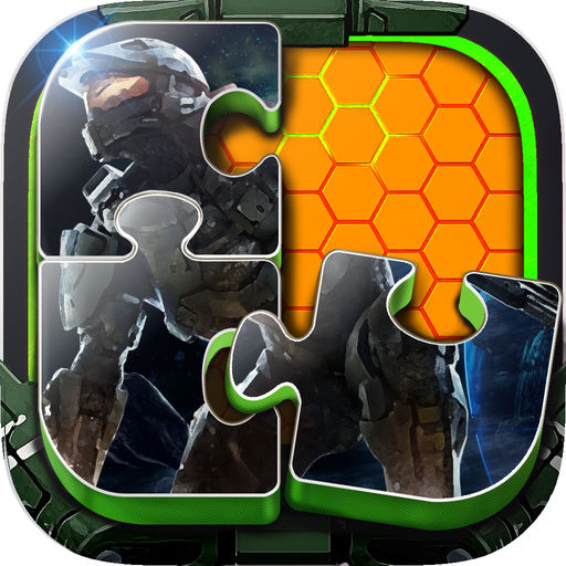 Jigsaw Puzzle Photo Games Collection For Halo