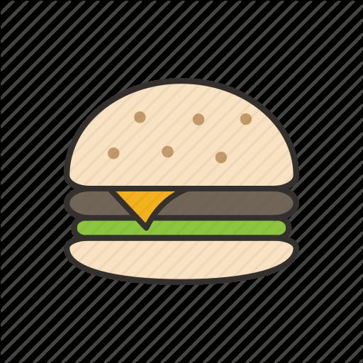 Hamburger Burger Restaurant Transparent Png Clipart Free