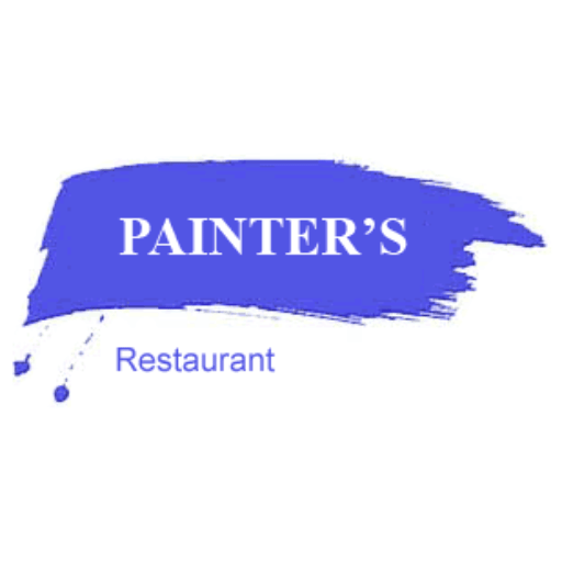 Cropped Painters Restaurant Icon Painters Restaurant