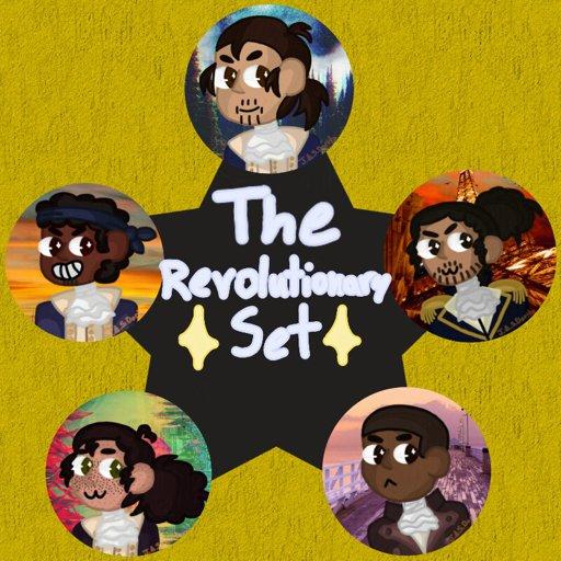 The Revolutionary Set Icons