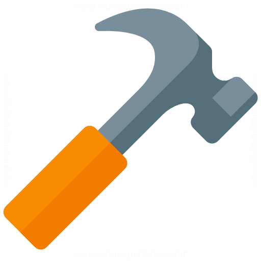 Iconexperience G Collection Hammer Icon