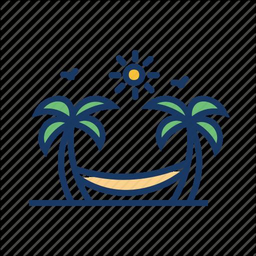 Beach, Coconut Trees, Hammock, Hammock Swing, Palm Trees, Resort