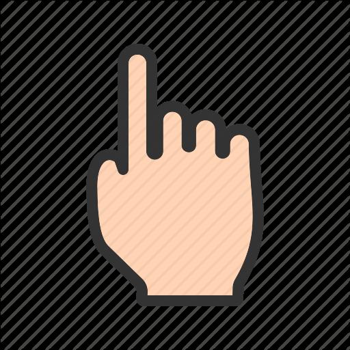 Click, Clicking, Computer, Cursor, Finger, Hand, Mouse Icon
