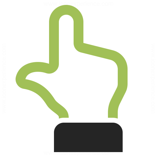 Hand Point Up Icon Iconexperience