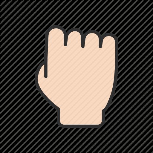 Fist, Grab Cursor, Hand, Hand Tool Icon