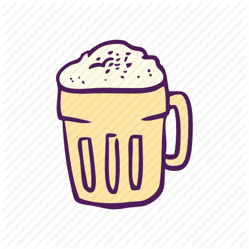 Alcohol, Beer, Drinks, Food, Hand Drawn Icon