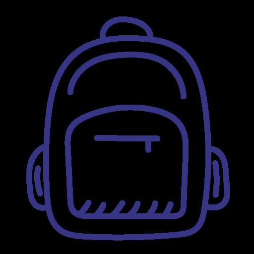 Backpack, Knapsack, Rucksack, Schoolbag Icon