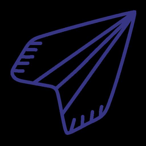 Creative, Paper, Plane, Startup Icon