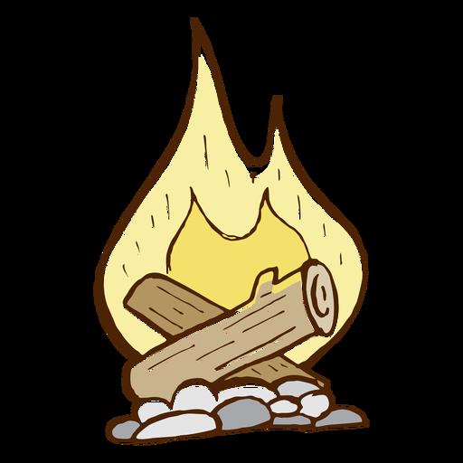 Hand Drawn Bonfire Transparent Png Clipart Free Download