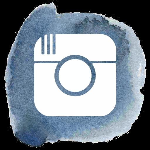 Social Media Instagram Handdrawn Icon