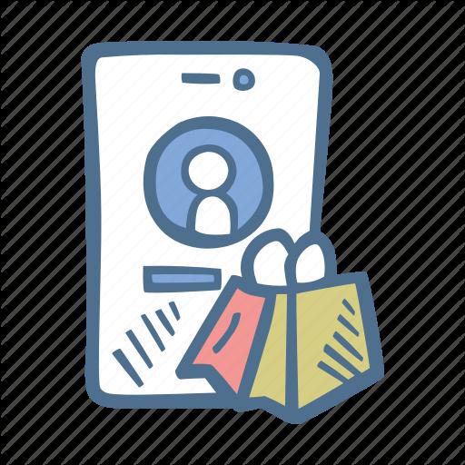 Bag, Business, Finance, Shoppable, Shopping, Social, Social Media Icon