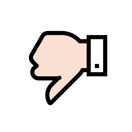 Dislike O, Dislike, Hand Icon With Png And Vector Format For Free