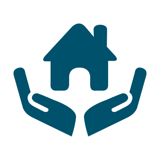 House In Hands Icon