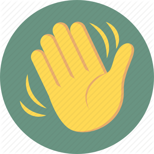 Hand Wave, Hi, Wave, Waving Icon