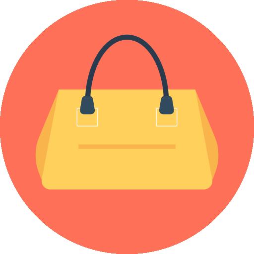 Handbag Icon Shopping Vectors Market