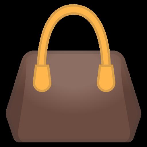 Handbag Icon Noto Emoji Clothing Objects Iconset Google