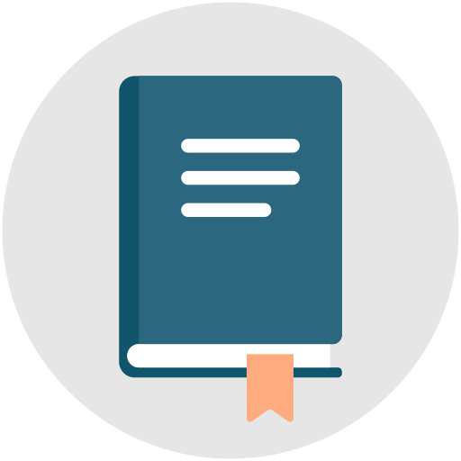 Book, Business, Qa, Manual, Guidelines, Handbook Icon