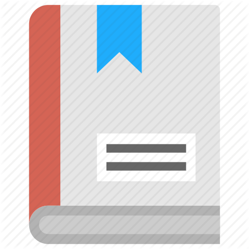 Diary, Guidebook, Handbook, Manual, Notebook Icon