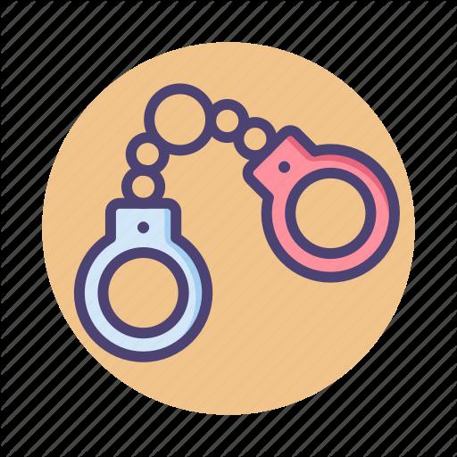 Cuff, Cuffs, Handcuff, Handcuffs Icon