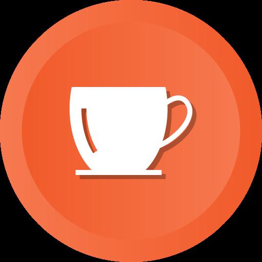 Coffee, Cup, Tea, Glass, Handle Icon