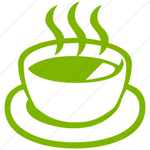 Simple Green Classica Teacup Without Handle Icon