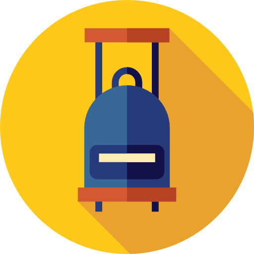 Suitcases, Business, Carrier, Briefcase, Container, Handle Icon