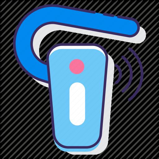 Bluetooth, Earphone, Handsfree Icon