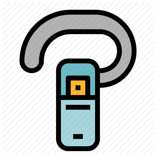 Bluetooth, Communication, Handset Icon