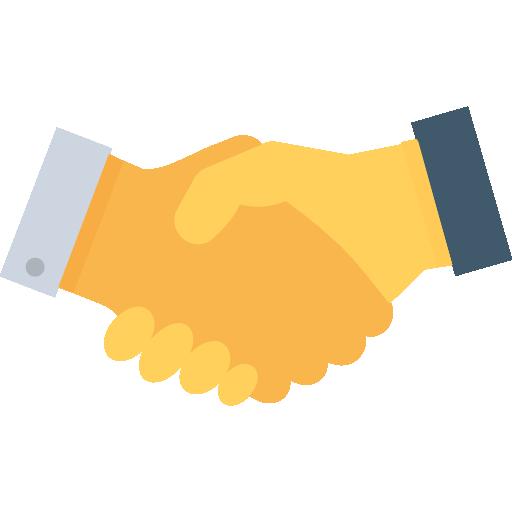 Handshake Icon Banking And Finance Vectors Market