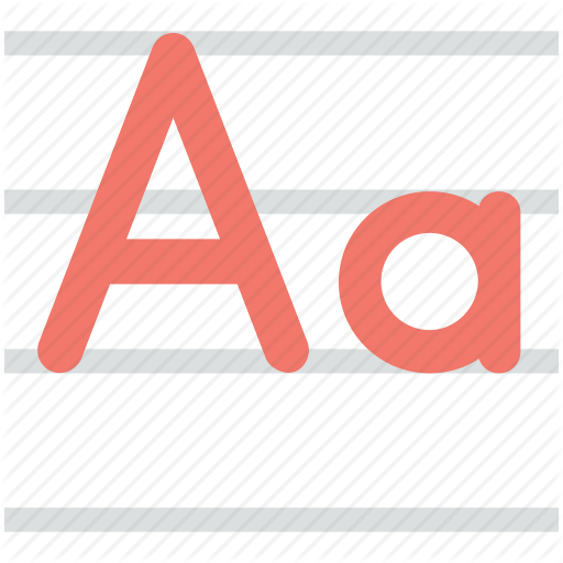 Alphabet, Calligraphy, English, Handwriting, Letter A Icon