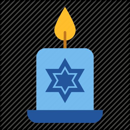 Candle, Chanukah, Hanukkah, Hanukkah Candle, Israel, Jewish