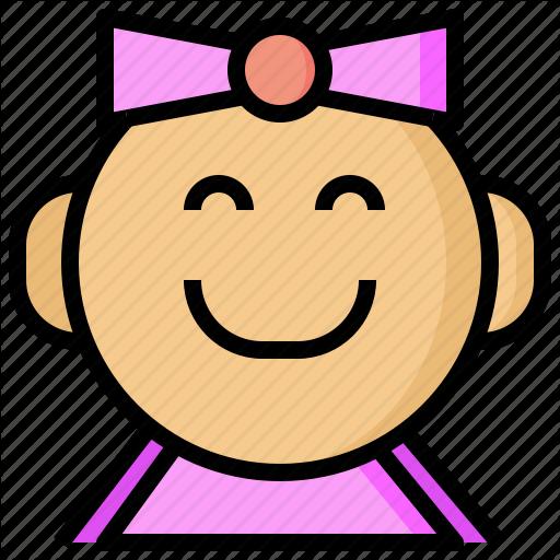Babies, Baby, Childhood, Children, Girl, Girls, Happiness Icon