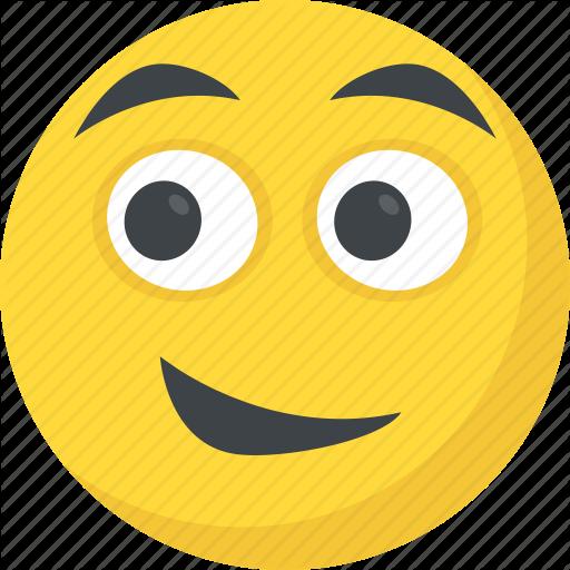 Emoji, Happiness, Happy Face, Smiley, Smirking Icon