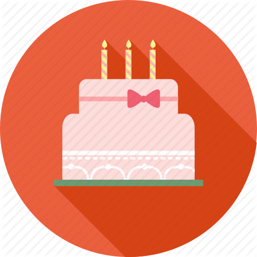 Birthday, Birthday Cake, Gift, Happy, Party, Smiley Icon