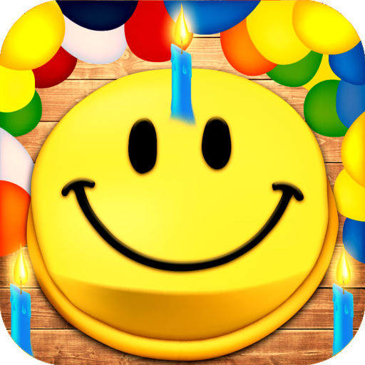 Birthday Animated Emoticons