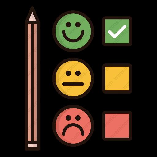 Download Customer,satisfaction,survey,feedback,rate Icon Inventicons