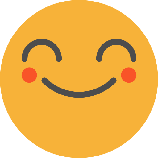 Happy, Emoticons, Emoji, Feelings, Smileys Icon