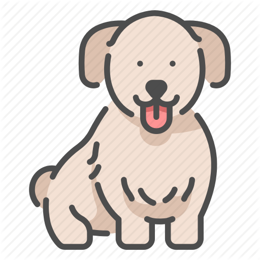 Animal, Cute, Dog, Happy, Pet, Puppy, Smile Icon