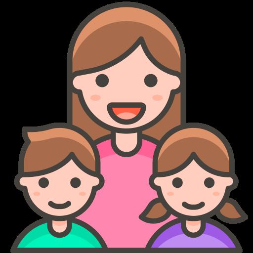 Family, Woman, Girl, Boy Icon Free Of Free Vector Emoji