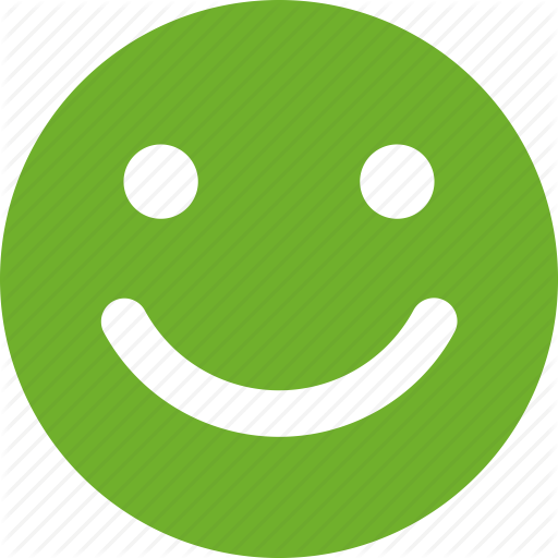 Cheerful, Face, Green, Happy, Like, Smile, Smiley Icon